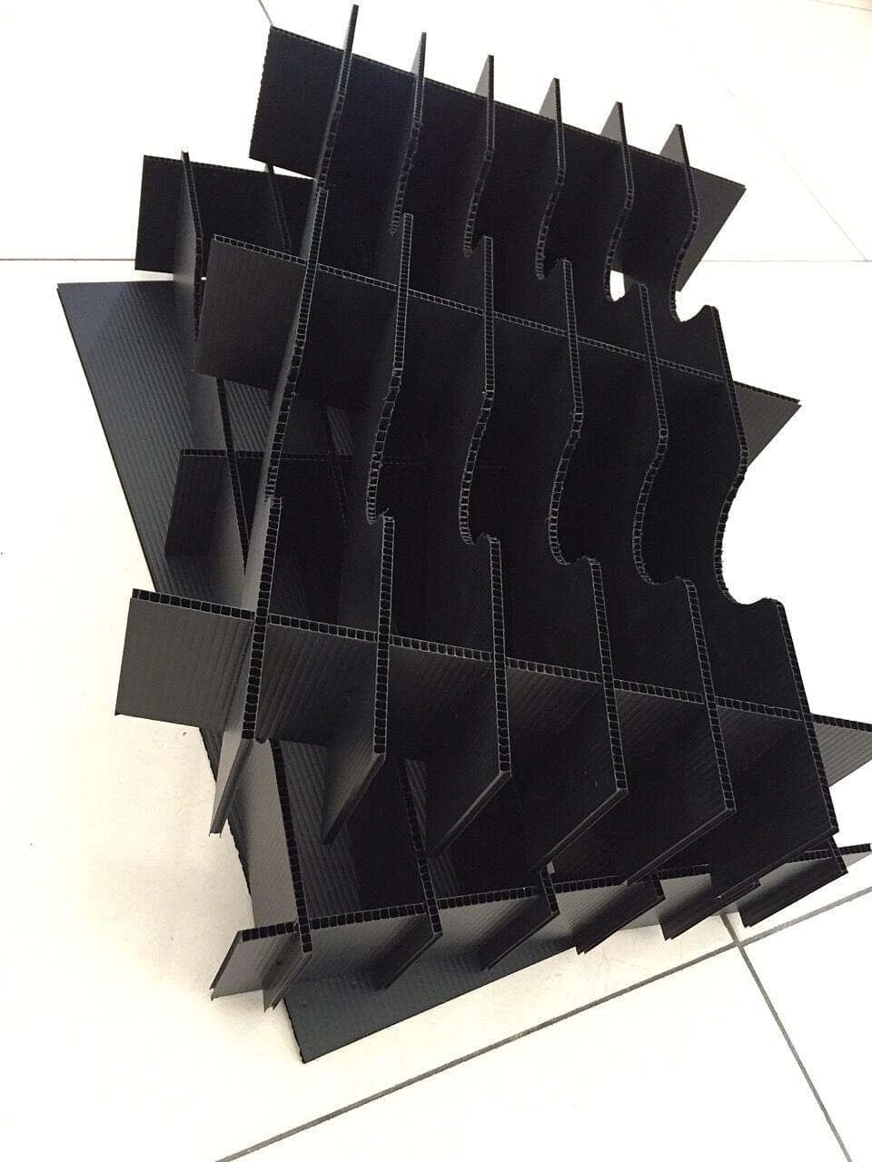 防静电中空板刀卡