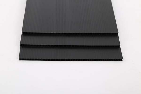黑色中空板