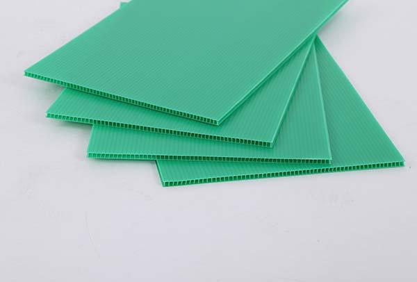 绿色中空板
